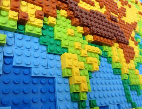 GROTE GROEPEN MOTIVEREN MET LEGO